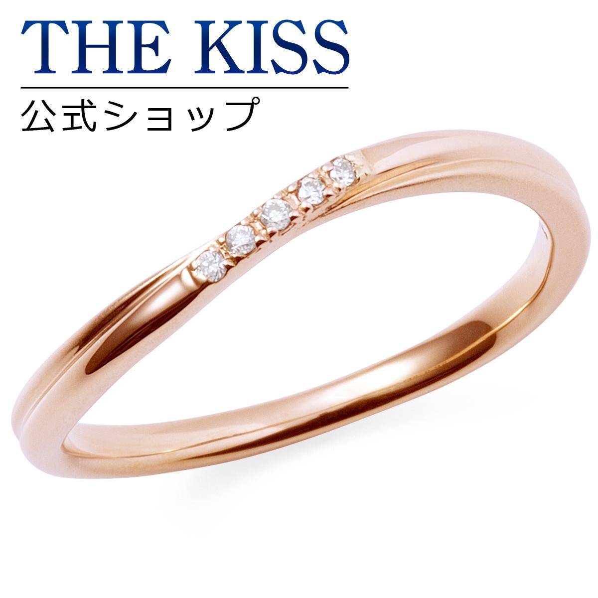 【あす楽対応】【送料無料】【THE KISS sweets】【ペアリング】 K10ピンクゴールド レディース リング (レディース単品) K-R2926PG ☆ ゴールド ペア リング 指輪 ブランド GOLD Pair Ring couple