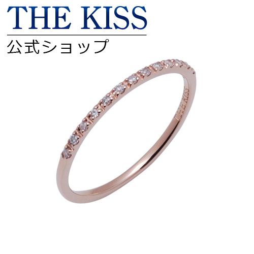 【あす楽対応】【送料無料】【THE KISS sweets】 K10ピンクゴールド ダイヤモンド ハーフエタニティ レディース リング ☆ ダイヤモンド ゴールド レディース リング 指輪 ブランド Diamond GOLD Ladies Ring