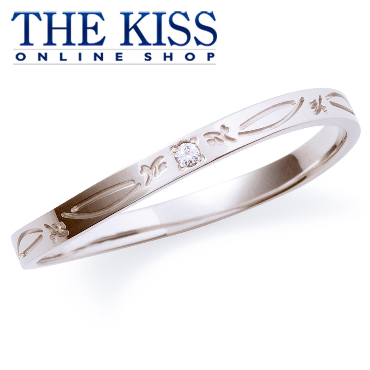【あす楽対応】【送料無料】【THE KISS sweets】【ペアリング】 K10ホワイトゴールド メンズ リング (メンズ単品) K-R804WG ☆ ゴールド ペア リング 指輪 ブランド GOLD Pair Ring couple