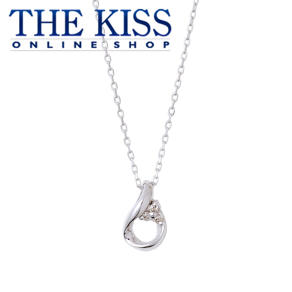 【ネット限定】【あす楽対応】【送料無料】【THEKISS】THE KISS 公式サイト K10ホワイトゴールド ネックレス レディースジュエリー・アクセサリー ジュエリーブランド THEKISS ネックレス LU-N2902WG ザキス