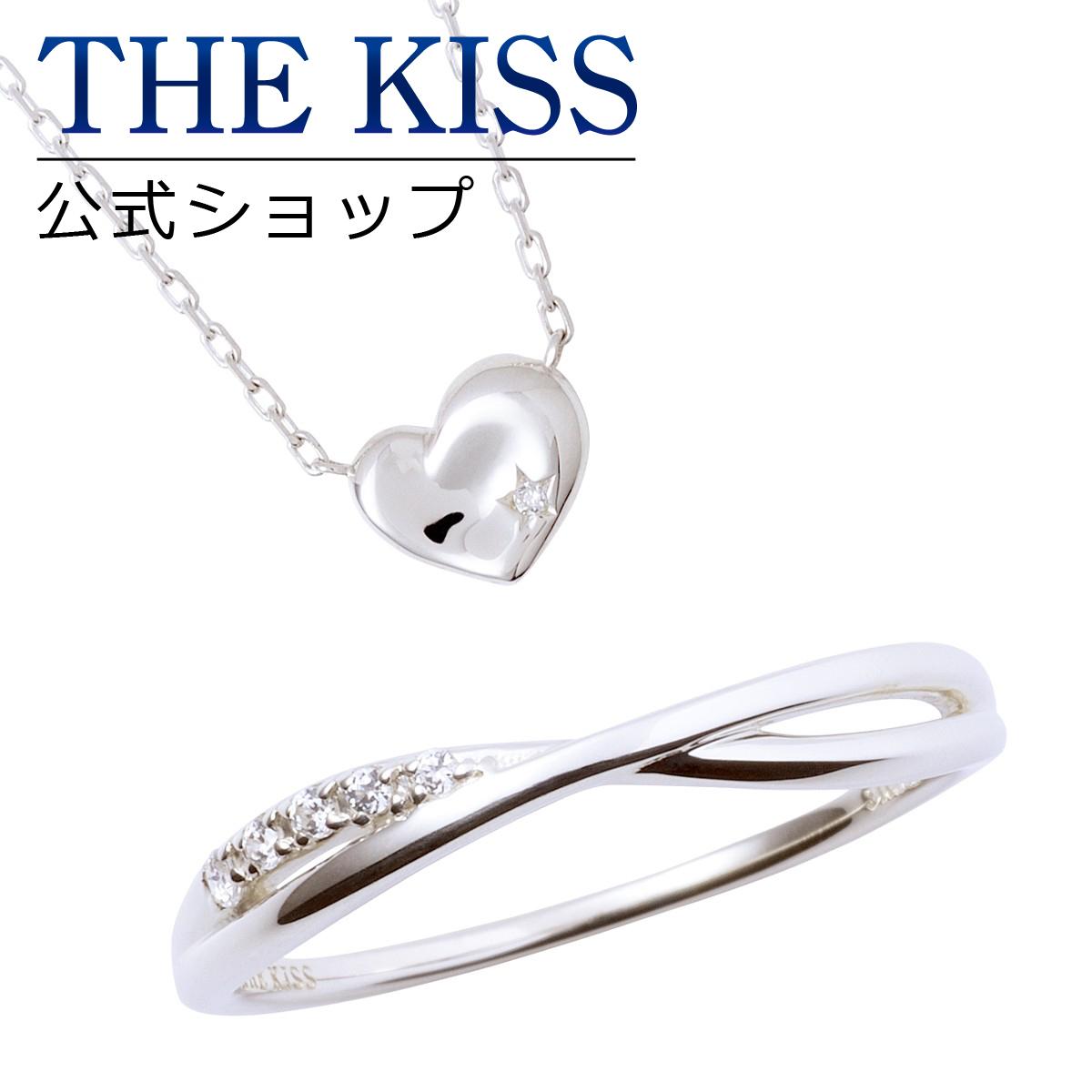 【あす楽対応】THE KISS 公式サイト レディースセット レディースリング レディースネックレス レディースジュエリー・アクセサリー ジュエリーブランド THEKISS リング・指輪 ネックレス・ペンダント 記念日 プレゼント SR2016CB-SPD270DM セット ザキス 【送料無料】