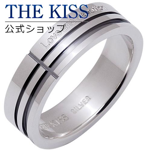 【あす楽対応】 THE KISS 公式サイト シルバー ペアリング (メンズ 単品 ) ペアアクセサリー カップル に 人気 の ジュエリーブランド THEKISS ペア リング・指輪 SR1630 ザキス 【送料無料】