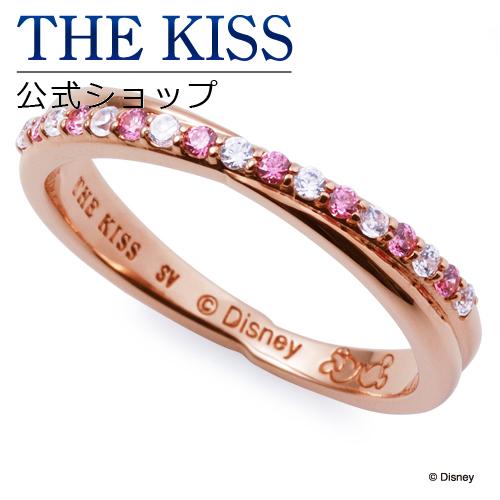 【あす楽対応】【ディズニーコレクション】 ディズニー / ペアリング / ミニーマウス / スカートカラー / THE KISS リング・指輪 シルバー キュービック (レディース 単品) DI-SR1200CB ザキス 【送料無料】【Disneyzone】