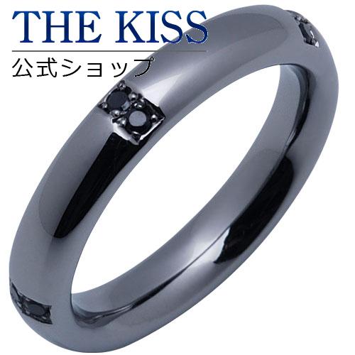 【あす楽対応】 THE KISS 公式サイト シルバー ペアリング (メンズ 単品 ) ブラックキュービック ペアアクセサリー カップル に 人気 の ジュエリーブランド THEKISS ペア リング・指輪 SR6011CB ザキス 【送料無料】