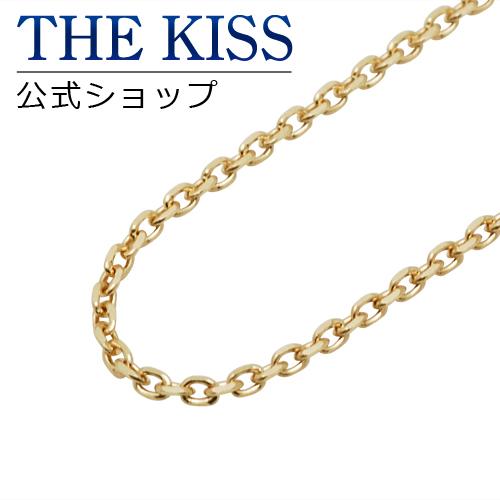 【あす楽対応】【送料無料】【THE KISS sweets】K10イエローゴールド スライド アズキチェーン 45cm☆