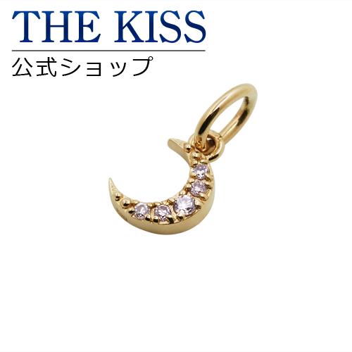 【あす楽対応】【送料無料】【THE KISS sweets】K10イエローゴールド ダイヤモンド ムーン ゴールドチャーム☆
