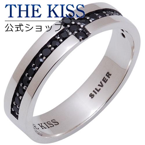 【あす楽対応】 THE KISS 公式サイト シルバー ペアリング (メンズ 単品 ) ブラックキュービック ペアアクセサリー カップル に 人気 の ジュエリーブランド THEKISS ペア リング・指輪 SR1819BK ザキス 【送料無料】