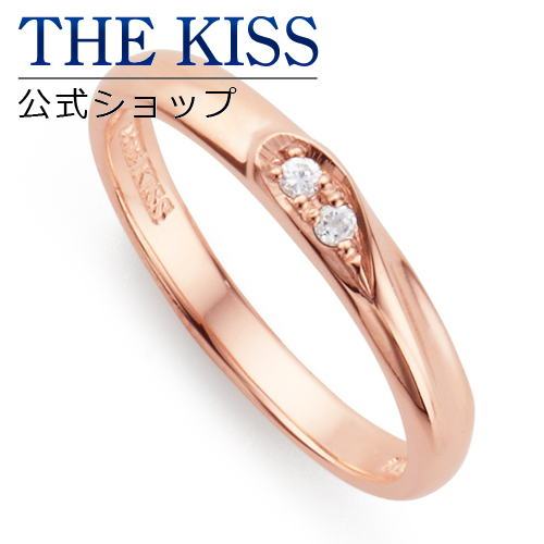 【あす楽対応】THE KISS 公式サイト シルバー ペアリング ( レディース 単品 ) ダイヤモンド ペアアクセサリー カップル に 人気 の ジュエリーブランド THEKISS ペア リング・指輪 記念日 プレゼント SR2414DM ザキス 【送料無料】
