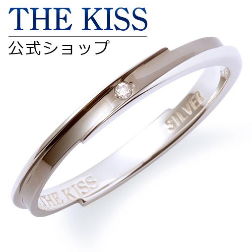 【あす楽対応】THE KISS 公式サイト シルバー ペアリング (メンズ 単品 ) ダイヤモンド ペアアクセサリー カップル に 人気 の ジュエリーブランド THEKISS ペア リング・指輪 記念日 プレゼント SR6028DM ザキス 【送料無料】