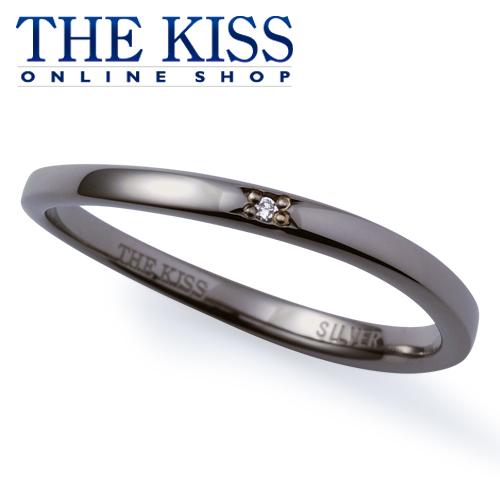 【あす楽対応】THE KISS 公式サイト シルバー ペアリング (メンズ 単品 ) ダイヤモンド ペアアクセサリー カップル に 人気 の ジュエリーブランド THEKISS ペア リング・指輪 記念日 プレゼント SR6044DM ザキス 【送料無料】