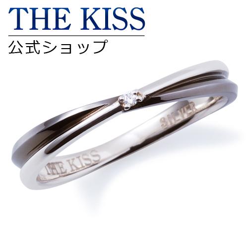 【あす楽対応】THE KISS 公式サイト シルバー ペアリング (メンズ 単品 ) ダイヤモンド ペアアクセサリー カップル に 人気 の ジュエリーブランド THEKISS ペア リング・指輪 記念日 プレゼント SR6065DM ザキス 【送料無料】