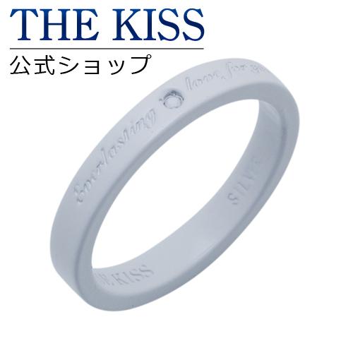 【あす楽対応】 THE KISS 公式サイト シルバー ペアリング ( レディース 単品 ) ダイヤモンド ペアアクセサリー カップル に 人気 の ジュエリーブランド THEKISS ペア リング・指輪 SR756WH-DM ザキス 【送料無料】
