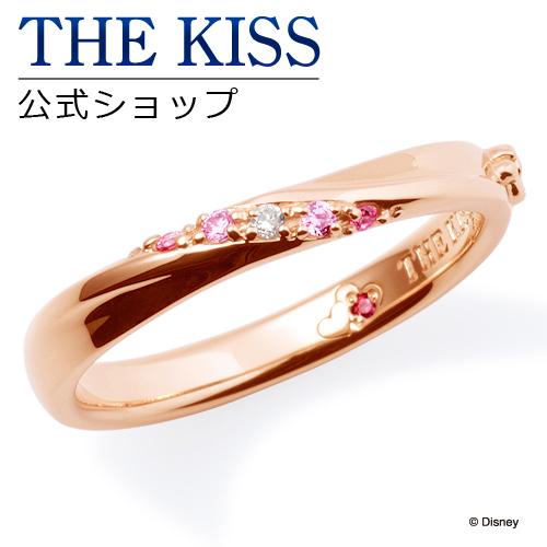 【あす楽対応】【ディズニーコレクション】 ディズニー / ペアリング / ミニーマウス / THE KISS リング・指輪 シルバー ダイヤモンド (レディース 単品) DI-SR1816DM ザキス 【送料無料】【Disneyzone】