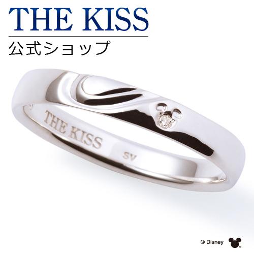 【あす楽対応】【ディズニーコレクション】 ディズニー / ペアリング / 隠れミッキーマウス / THE KISS リング・指輪 シルバー ダイヤモンド (メンズ 単品) DI-SR6017DM ザキス 【送料無料】