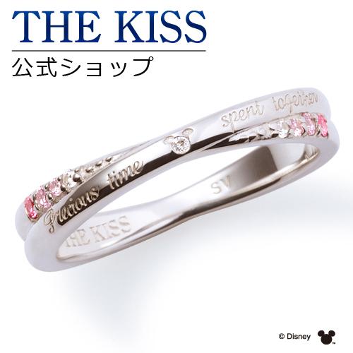 【あす楽対応】【ディズニーコレクション】 ディズニー / ペアリング / 隠れミッキーマウス / THE KISS リング・指輪 シルバー ダイヤモンド (レディース 単品) DI-SR6018DM ザキス 【送料無料】【Disneyzone】