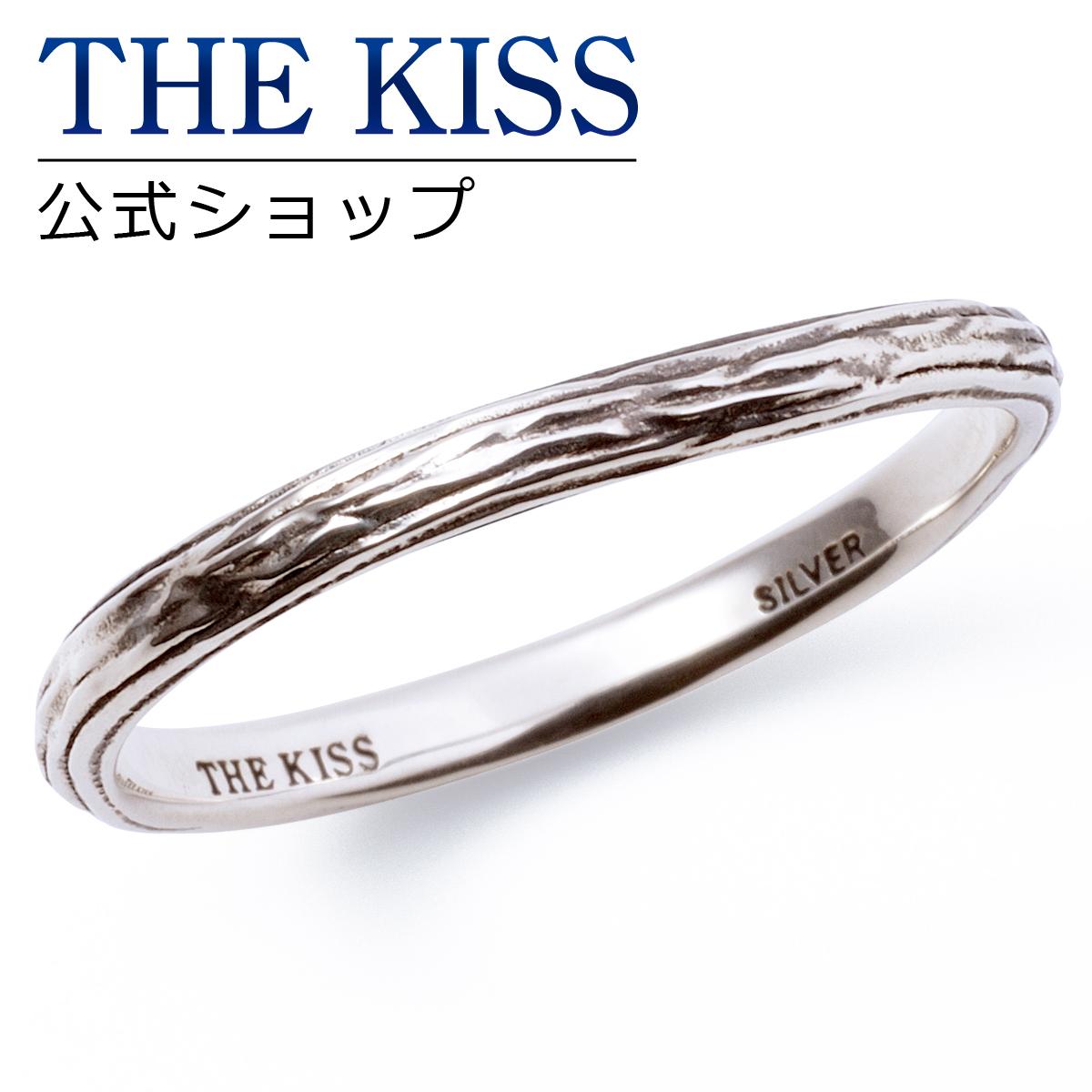 【あす楽対応】THE KISS 公式サイト シルバー ペアリング ( メンズ 単品 ) ペアアクセサリー カップル に 人気 の ジュエリーブランド THEKISS ペア リング・指輪 記念日 プレゼント SR1701BK ザキス 【送料無料】