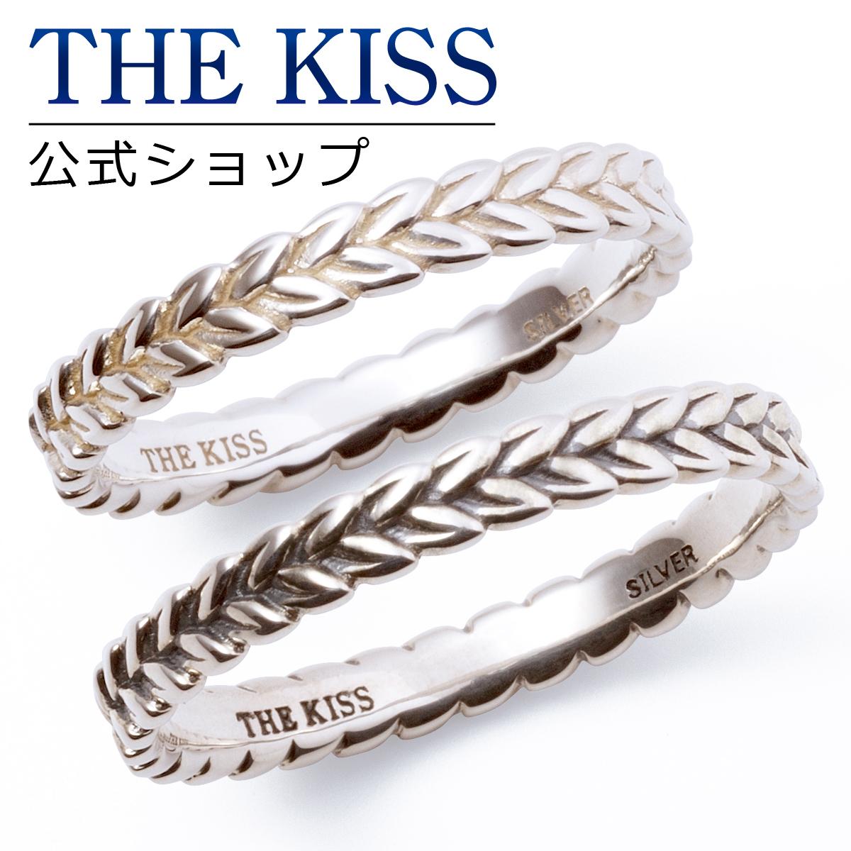 【あす楽対応】THE KISS 公式サイト シルバー ペアリング ペアアクセサリー カップル に 人気 の ジュエリーブランド THEKISS ペア リング・指輪 記念日 プレゼント SR1702-1702BK セット シンプル ザキス