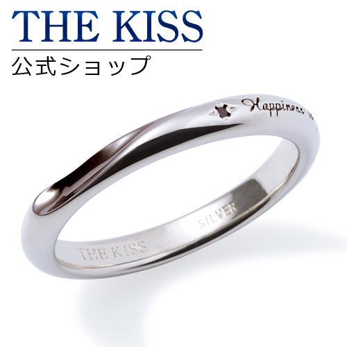 【あす楽対応】THE KISS 公式サイト シルバー ペアリング (メンズ 単品 ) ブラックダイヤモンド ペアアクセサリー カップル に 人気 の ジュエリーブランド THEKISS ペア リング・指輪 記念日 プレゼント SR458BKD ザキス 【送料無料】