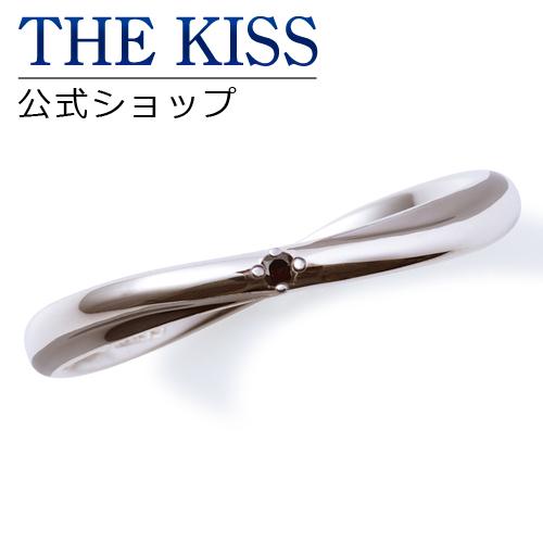 【あす楽対応】 THE KISS 公式サイト シルバー ペアリング (メンズ 単品 ) ブラックダイヤモンド ペアアクセサリー カップル に 人気 の ジュエリーブランド THEKISS ペア リング・指輪 SR6076BKD ザキス 【送料無料】
