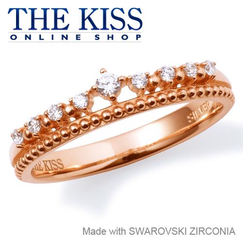 【あす楽対応】THE KISS 公式サイト シルバー リング ( レディース ) レディースジュエリー・アクセサリー スワロフスキージルコニア ジュエリーブランド THEKISS リング・指輪 記念日 プレゼント SR6079CB ザキス 【送料無料】