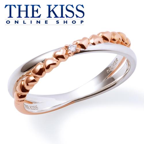 【あす楽対応】THE KISS 公式サイト シルバー ペアリング ( レディース 単品 ) ダイヤモンド ペアアクセサリー カップル に 人気 の ジュエリーブランド THEKISS ペア リング・指輪 記念日 プレゼント SR6082DM ザキス 【送料無料】