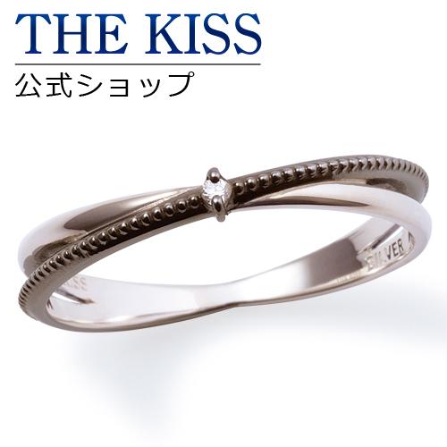 【あす楽対応】 THE KISS 公式サイト シルバー ペアリング ( メンズ 単品 ) ペアアクセサリー カップル に 人気 の ジュエリーブランド THEKISS ペア リング・指輪 SR6087DM ザキス 【送料無料】