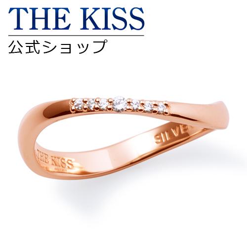 【あす楽対応】THE KISS 公式サイト シルバー ペアリング ( レディース 単品 ) ペアアクセサリー カップル に 人気 の ジュエリーブランド THEKISS ペア リング・指輪 記念日 プレゼント SR6088DM ザキス 【送料無料】
