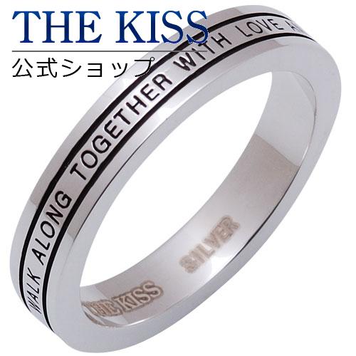【あす楽対応】 THE KISS 公式サイト シルバー ペアリング (メンズ 単品 ) ペアアクセサリー カップル に 人気 の ジュエリーブランド THEKISS ペア リング・指輪 SR668BK ザキス 【送料無料】