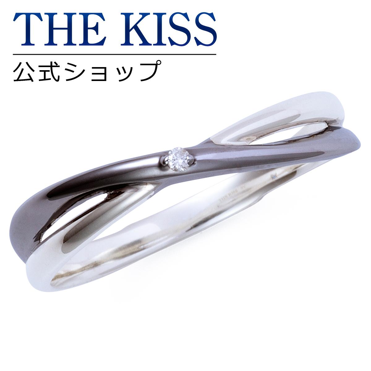 【あす楽対応】THE KISS 公式サイト シルバー ペアリング ( メンズ 単品 ) ペアアクセサリー カップル に 人気 の ジュエリーブランド THEKISS ペア リング・指輪 記念日 プレゼント 2016-01RBK-DM ザキス 【送料無料】