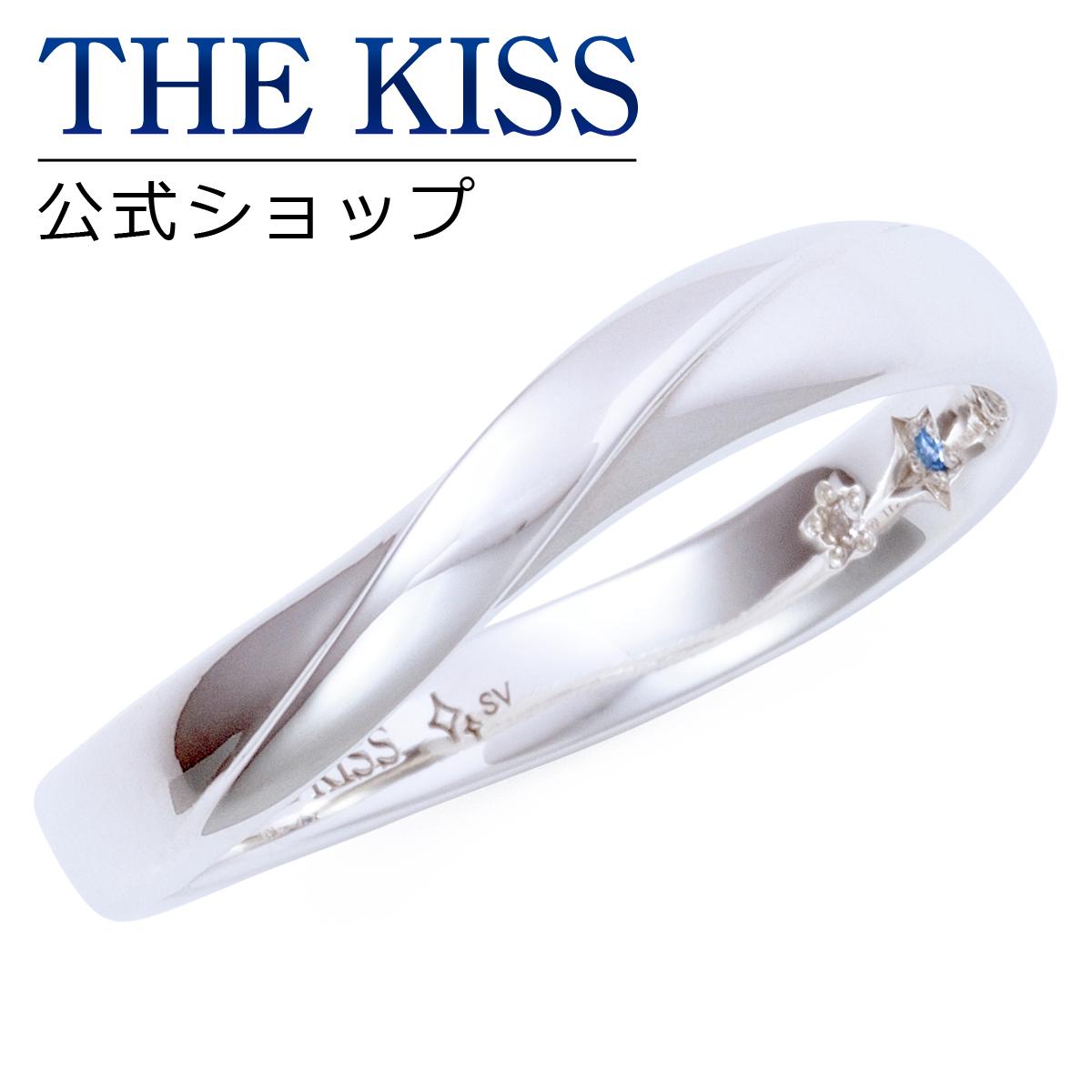 【あす楽対応】THE KISS 公式サイト シルバー ペアリング ( メンズ 単品 ) ペアアクセサリー カップル に 人気 の ジュエリーブランド THEKISS ペア リング・指輪 記念日 プレゼント 2016-02RM-DM ザキス 【送料無料】