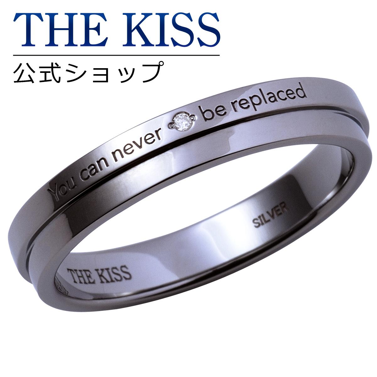 【あす楽対応】【2019年クリスマス限定】THE KISS 公式サイト シルバー ペアリング ( メンズ 単品 ) ペアアクセサリー カップル に 人気 の ジュエリーブランド THEKISS ペア リング・指輪 記念日 プレゼント 2019-03RBK-DM ザキス 【送料無料】