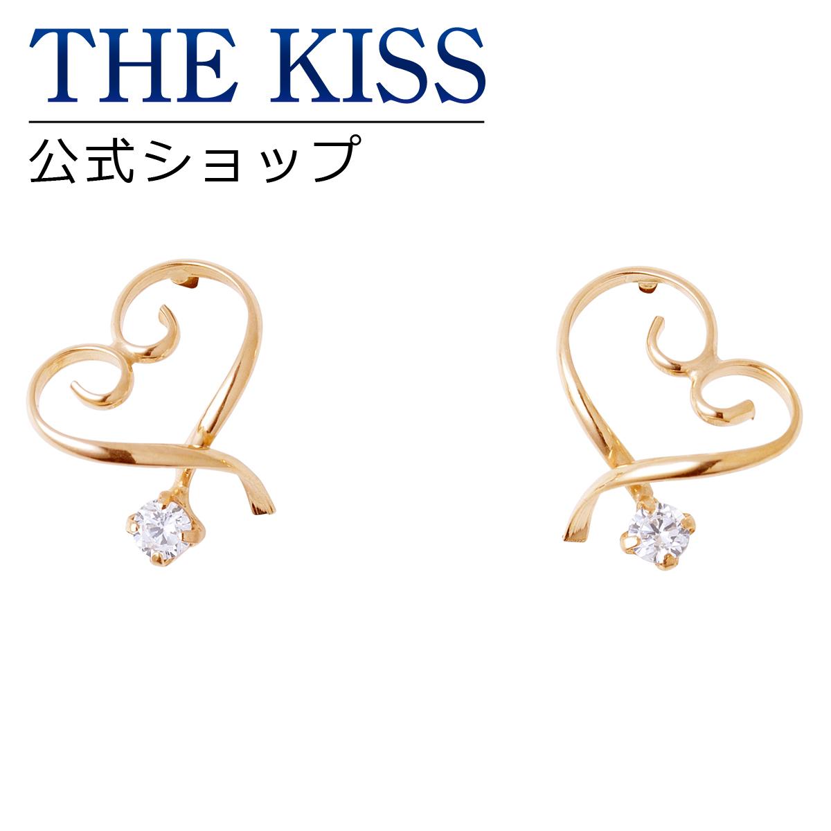 【あす楽対応】THE KISS 公式サイト K10 イエローゴールド ピアス レディースジュエリー・アクセサリー ジュエリーブランド THEKISS レディースピアス 記念日 プレゼント AL-34CB ザキス 【送料無料】