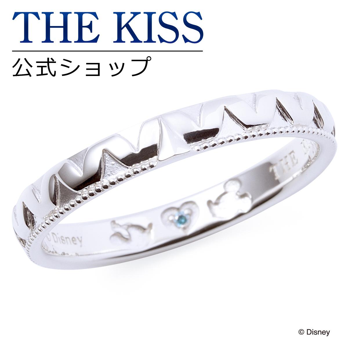 【あす楽対応】【ディズニーコレクション】 ディズニー / ペアリング / ミッキーマウス & ミニーマウス / THE KISS リング・指輪 シルバー (メンズ 単品) DI-SR1830BDM ザキス 【送料無料】【Disneyzone】