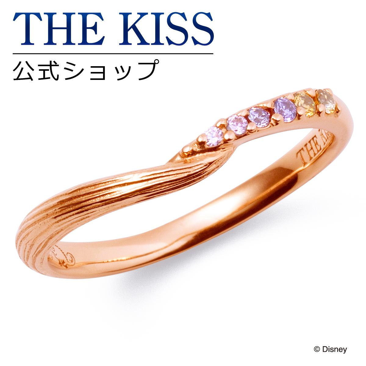 【あす楽対応】【ディズニーコレクション】 ディズニー / ペアリング / ディズニープリンセス ラプンツェル / THE KISS リング・指輪 シルバー (レディース 単品) DI-SR2917CB ザキス 【送料無料】
