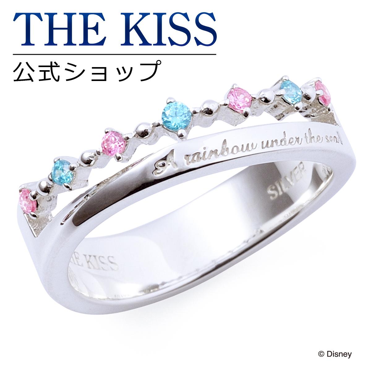 【あす楽対応】【ディズニーコレクション】 ディズニー / レディースリング / ピンキーリング / ディズニープリンセス アリエル / THE KISS リング・指輪 シルバー (レディース) DI-SR801CB ザキス 【送料無料】【Disneyzone】