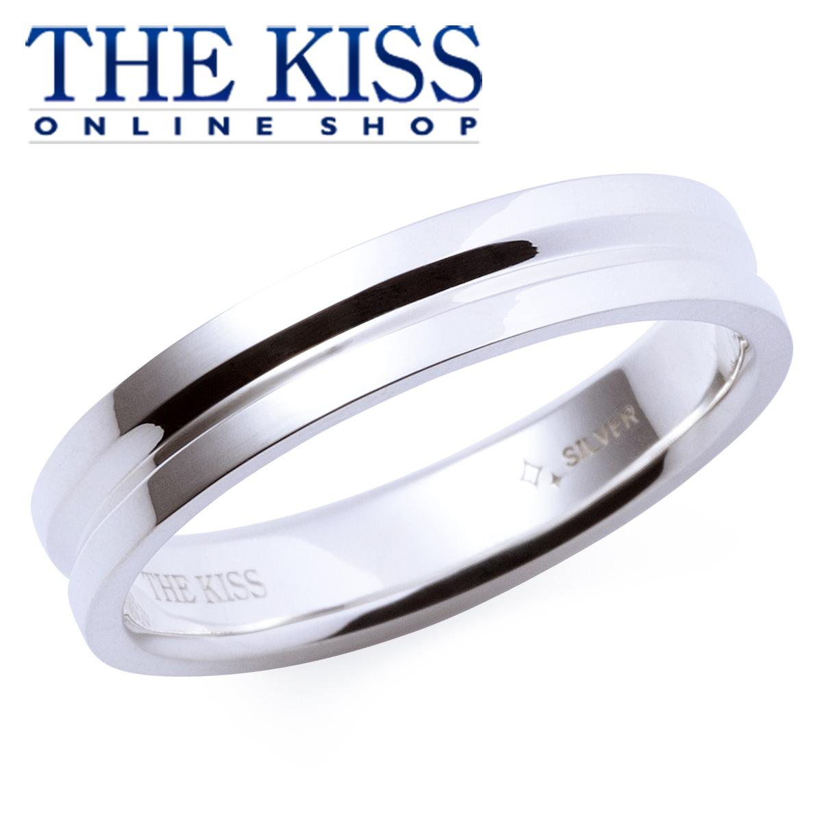 【あす楽対応】THE KISS 公式サイト シルバー ペアリング ( メンズ 単品 ) ペアアクセサリー カップル に 人気 の ジュエリーブランド THEKISS ペア リング・指輪 記念日 プレゼント PSR824 ザキス 【送料無料】