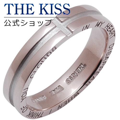 【あす楽対応】 THE KISS 公式サイト ピンクシルバー ペアリング ( レディース 単品 ) ペアアクセサリー カップル に 人気 の ジュエリーブランド ペア リング・指輪 PSV1306 ザキス 【送料無料】