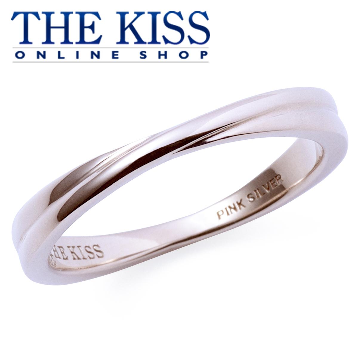【あす楽対応】THE KISS 公式サイト ピンクシルバー ペアリング ( レディース 単品 ) ペアアクセサリー カップル に 人気 の ジュエリーブランド ペア リング・指輪 PSV1322 ザキス 【送料無料】
