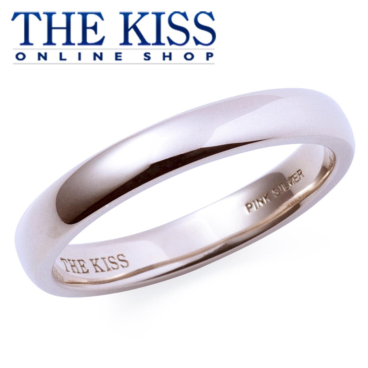 【あす楽対応】THE KISS 公式サイト ピンクシルバー ペアリング ( レディース 単品 ) ペアアクセサリー カップル に 人気 の ジュエリーブランド ペア リング・指輪 PSV1325 ザキス 【送料無料】