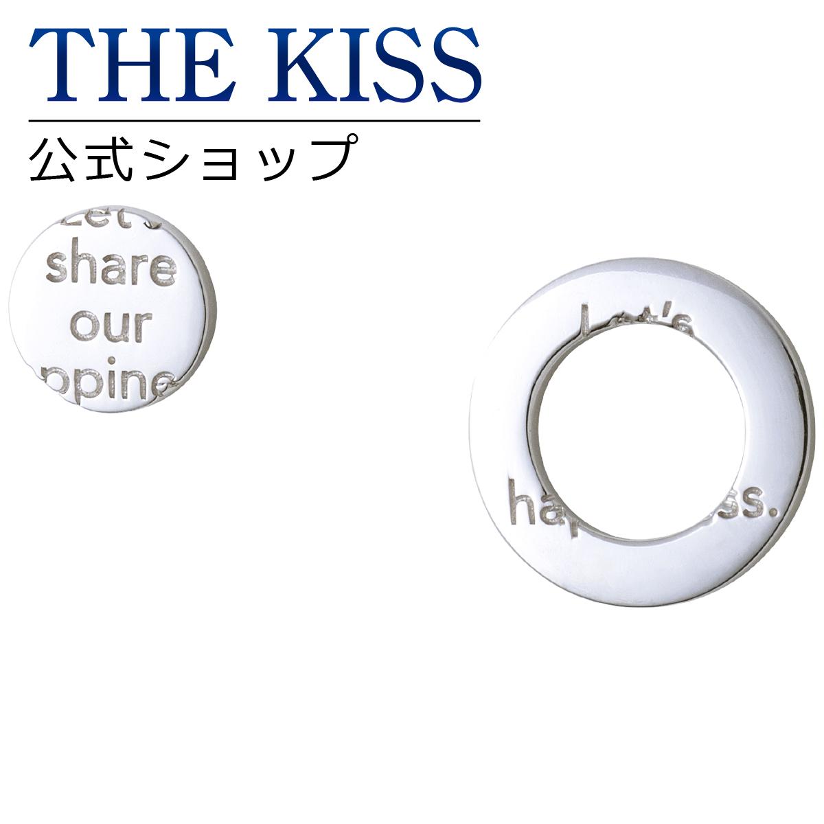 【あす楽対応】【THE KISS COUPLE'S】THE KISS 公式サイト シルバー ペアピアス ペアアクセサリー カップル に 人気 の ジュエリーブランド THEKISS ペア ピアス 記念日 プレゼント SPE2001 ザキス 【送料無料】