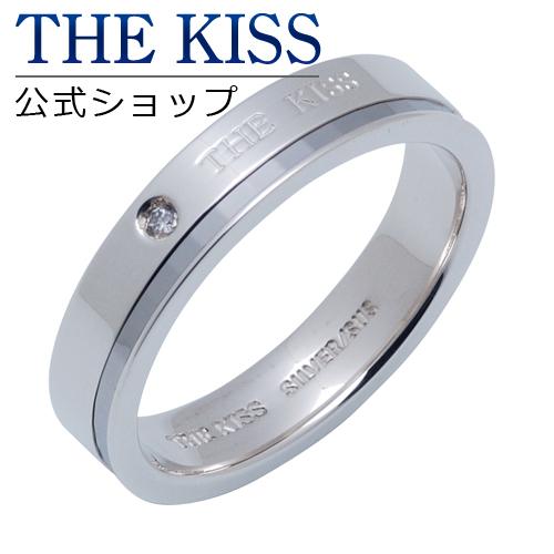 【あす楽対応】 THE KISS 公式サイト シルバー ペアリング ( メンズ 単品 ) ペアアクセサリー カップル に 人気 の ジュエリーブランド THEKISS ペア リング・指輪 SR2303DM ザキス 【送料無料】