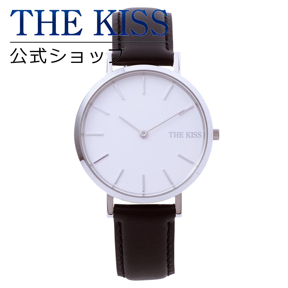 【あす楽対応】【送料無料】【THE KISS】【ペアウォッチ】ユニセックスウォッチ ラウンドタイプ(ユニセック単品) ステンレス ペア ウォッチ 腕時計 ブランド ☆ stainless Pair Watch couple
