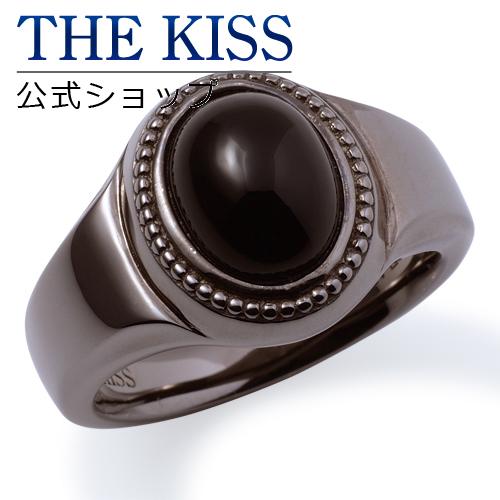 【あす楽対応】THE KISS 公式サイト シルバー リング ( メンズ ) メンズジュエリー・アクセサリー オニキス ジュエリーブランド THEKISS BLACK リング・指輪 記念日 プレゼント B-R2900SVOX ザキス 【送料無料】
