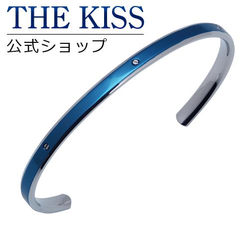【あす楽対応】 THE KISS 公式サイト ステンレス ペアバングル (メンズ 単品) サージカルステンレス 316L ペアアクセサリー ジュエリーブランド THEKISS ペア バングル TBR3014-M ザキス 【送料無料】