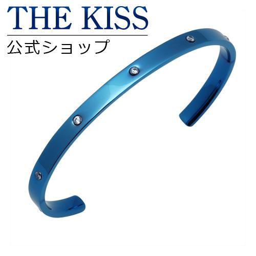 【あす楽対応】 THE KISS 公式サイト ステンレス ペアバングル (メンズ 単品) キュービック サージカルステンレス 316L ペアアクセサリー ジュエリーブランド THEKISS ペア バングル TBR3038CB-M ザキス 【送料無料】