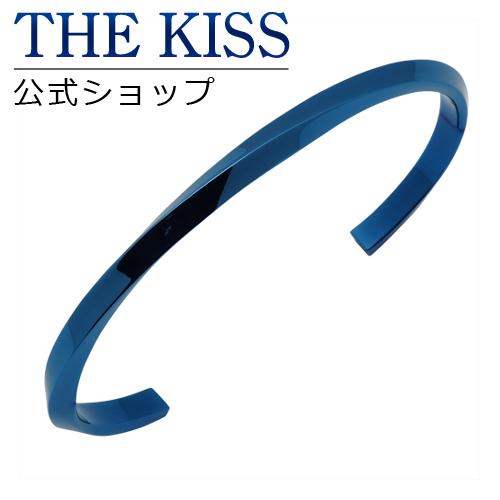 【あす楽対応】 THE KISS 公式サイト ステンレス ペアバングル (メンズ 単品) キュービック サージカルステンレス 316L ペアアクセサリー ジュエリーブランド THEKISS ペア バングル TBR3045CB-M ザキス 【送料無料】