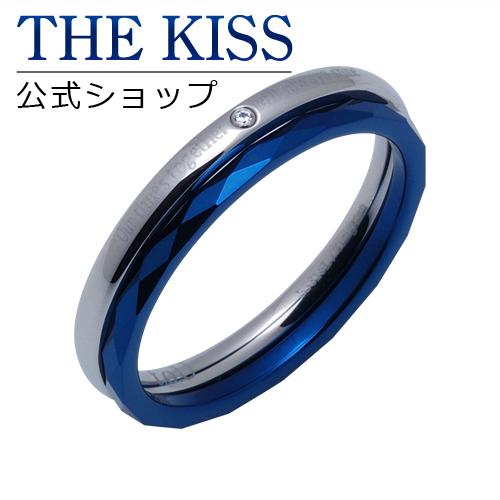 【あす楽対応】 THE KISS 公式サイト ステンレス ペアリング (レディース・メンズ 単品) ペアアクセサリー カップル に 人気 の ジュエリーブランド THEKISS ペア リング・指輪 TR3089DM ザキス 【送料無料】