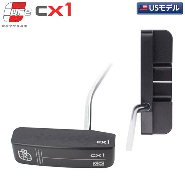 【あす楽】【USモデル/送料無料】 キュア CX-1/CX-2 ベントネック パター