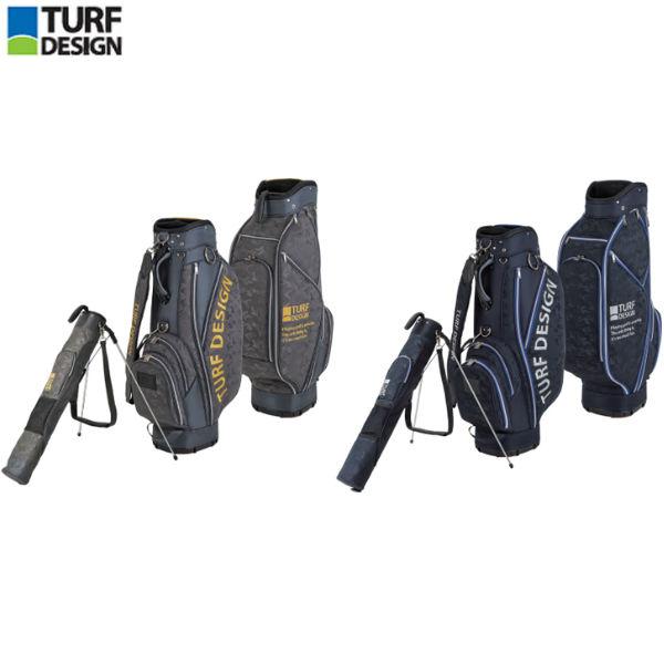 【あす楽】 朝日ゴルフ ターフデザイン TDCB-1874 セルフスタンドバッグ ツインバッグ キャディバッグ