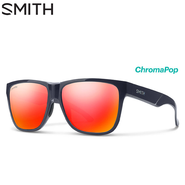 [土日祝も出荷可能]【あす楽】スミス ローダウン XL 2 Deep Ink CP-Sun Red Mirror 020439404 クロマポップレンズ サングラス